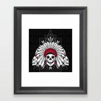 Southern Death Cult Framed Art Print