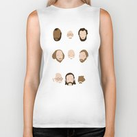 Beards Are Awesome Biker Tank