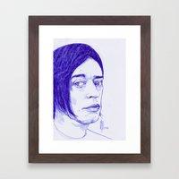 Blixa Framed Art Print