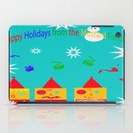 Happy Holidays iPad Case