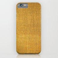 Burlap texture look iPhone 6 Slim Case