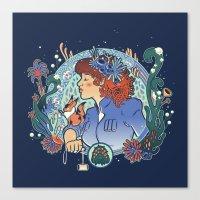 Spore Princess Canvas Print