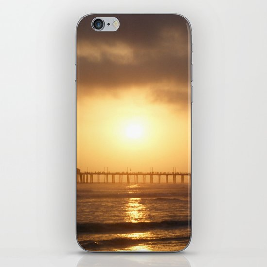 Ocean and Sun iPhone & iPod Skin