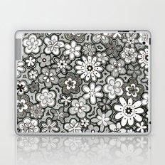 Flower Frenzy Laptop & iPad Skin