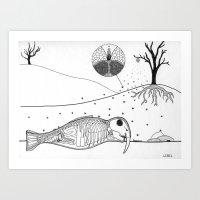 Specimen A Art Print