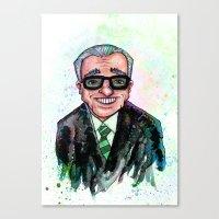 Martin Scorsese Canvas Print