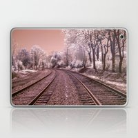 Train Track in Culpeper Laptop & iPad Skin