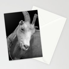 black goat Stationery Cards