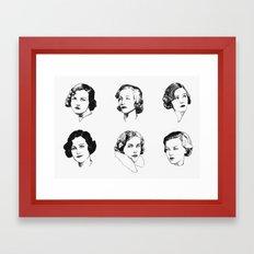Mitford Sisters Framed Art Print