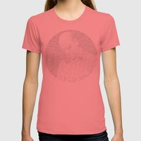 [De]generated ArcFace - Hunter S. Thompson Womens Fitted Tee Pomegranate SMALL