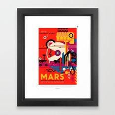 NASA/JPL Poster (Mars) Framed Art Print