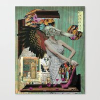 Angel Of Decay Canvas Print