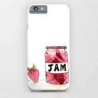 Strawberry VS Jam iPhone 6 Slim Case