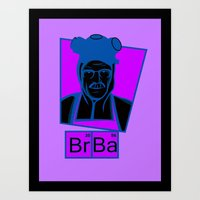 The Cook of Breaking Bad Art Print