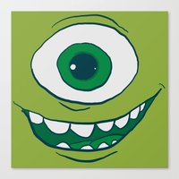 Bob Face Canvas Print