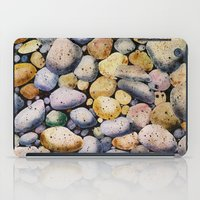 beach stones iPad Case