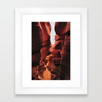Curves. Low Antelope Can… Framed Art Print