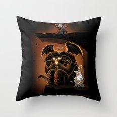 Wizardly Shenanigans Throw Pillow
