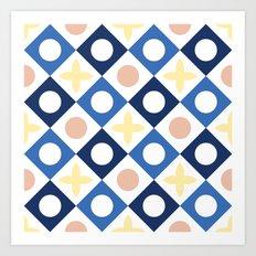Floor tile 6 Art Print
