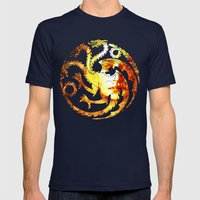 Bride of Fire Mens Fitted Tee Navy SMALL