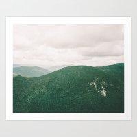 I'll See Mountains Again Art Print