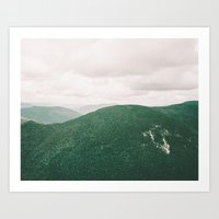i'll see mountains again Art Print