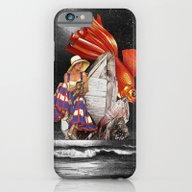 Midnight Fishing iPhone 6 Slim Case