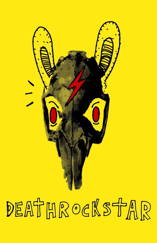 Rabitt Skull Canvas Print