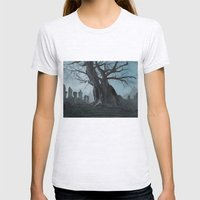Ancient tree Womens Fitted Tee Ash Grey SMALL