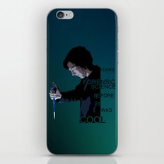 I liked Forensic Science before it was Cool iPhone & iPod Skin