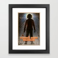 The Flannel Shirt Massacre Framed Art Print