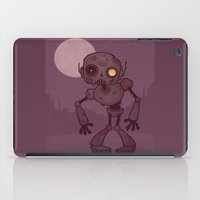 Rusty Zombie Robot iPad Case