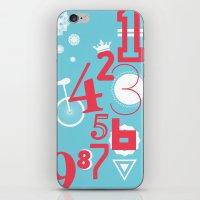 123... iPhone & iPod Skin