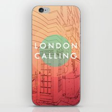 Songs and Cities: London Calling iPhone & iPod Skin