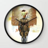 I Scream Wall Clock