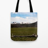 mountains. Tote Bag