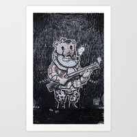 Open season Art Print