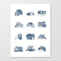 Houses Of Lupus, Missour… Canvas Print
