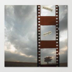 Wandering Canvas Print