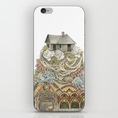 Sweet Home I // Forest Illustration iPhone & iPod Skin