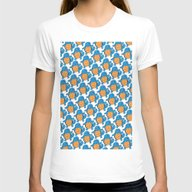 Squirtle Squad Womens Fitted Tee White SMALL