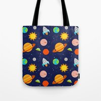 Planet Party Tote Bag
