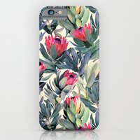 Painted Protea Pattern iPhone 6 Slim Case