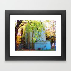 Toxic Nature Framed Art Print