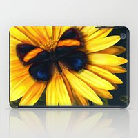 Butterfly On Yellow iPad Case