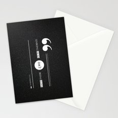 Dead or alive Stationery Cards