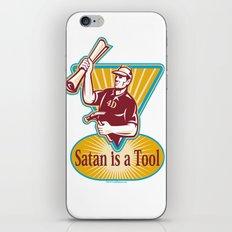 Satan IS a Tool iPhone & iPod Skin