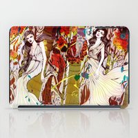 Fall Long Dresses  iPad Case