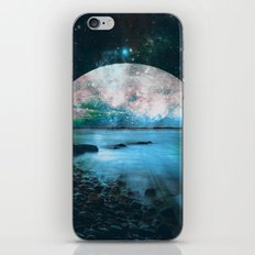 Mystic Lake Blue Green iPhone & iPod Skin