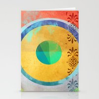 Half Quater Hue Stationery Cards
